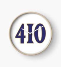 Baltimore LYFE the 410!!! Clock