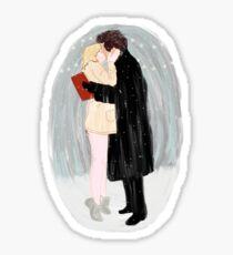 Bridget Jones Christmas Kiss Sticker