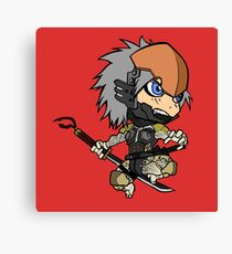 Chibi Raiden Canvas Print