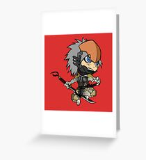 Chibi Raiden Greeting Card