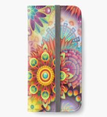Creative abstract 3D iPhone Wallet/Case/Skin