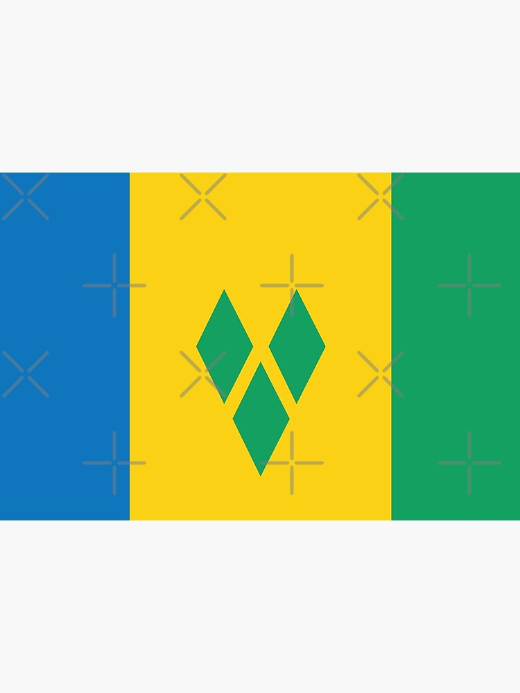 St  Vincent and The Grenadines National Flag | Poster