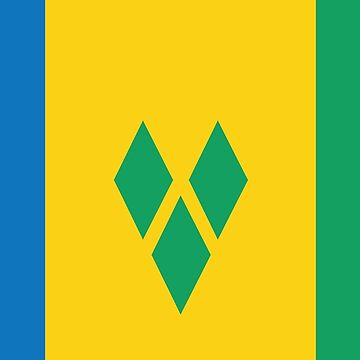St. Vincent and The Grenadines National Flag by identiti