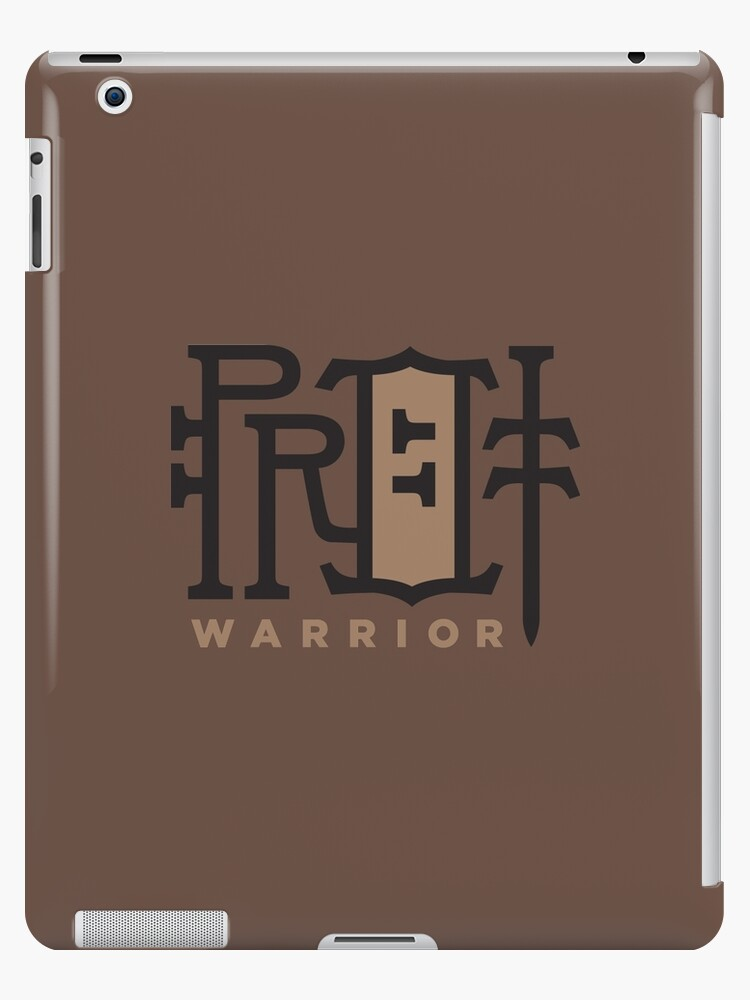 'WoW Brand - Protection Warrior' iPad Case/Skin by dcmjs