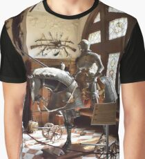 A Game of Thrones Peles Castle, Romania Graphic T-Shirt