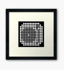 DOTTED DJ MIXER (w) Framed Art Print