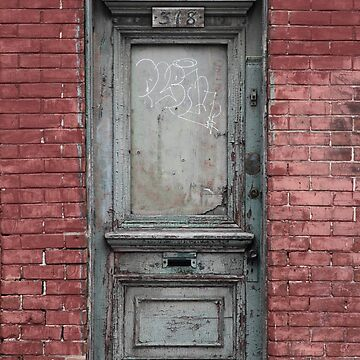 griffintown door by KreddibleTrout