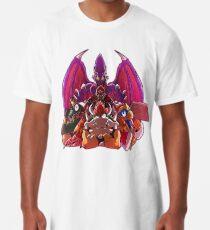 Camiseta larga ¡SMASH los Heros!