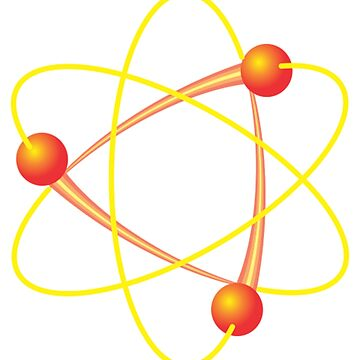 Atomic Whirl Atom Symbol Physics by ckennicott