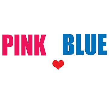 Pink or Blue Big Sis Loves You Sister to Be by ckennicott