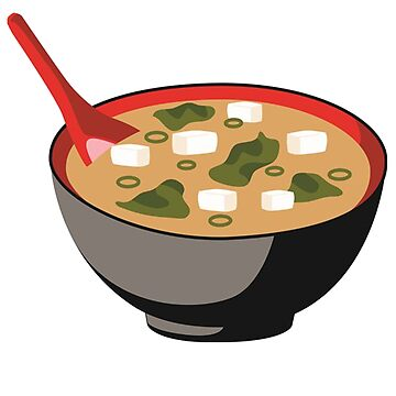 Miso Hungry Miso Soup Bowel With Tofu by ckennicott