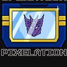 TF Pixelations - Soundwave by deadbunneh
