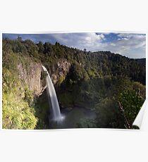 Bridal Veil Falls. Poster