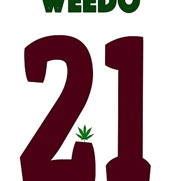 Weednius T Shirt Number 21 California Club 420 by maximslutu