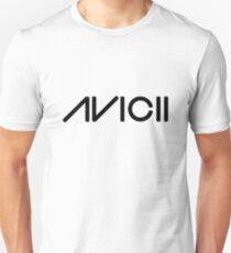 Avicii enlarged black text Unisex T-Shirt