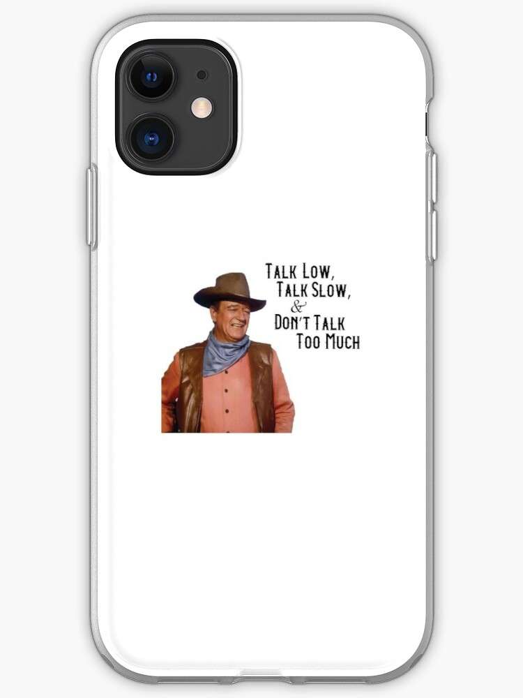 John Wayne iphone 11 case