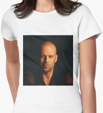 Bruce Willis Women's Fitted T-Shirt
