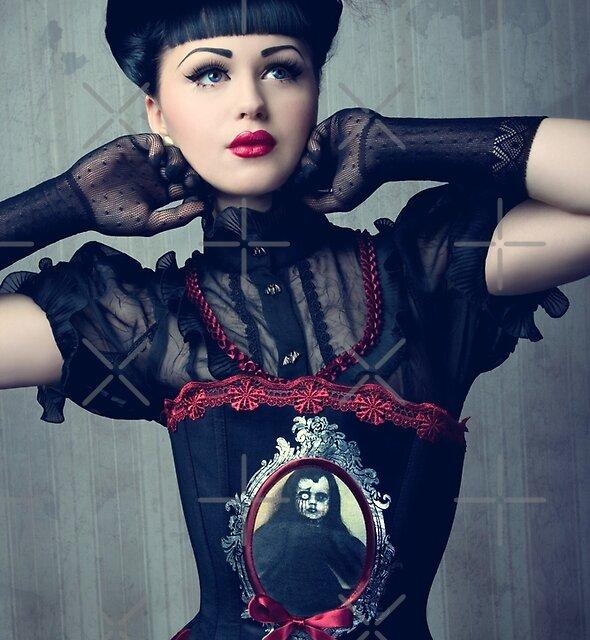 Viktoria Modesta - Dark Doll by phantomorchid