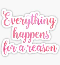 Inspirational Watercolor Quote Sticker