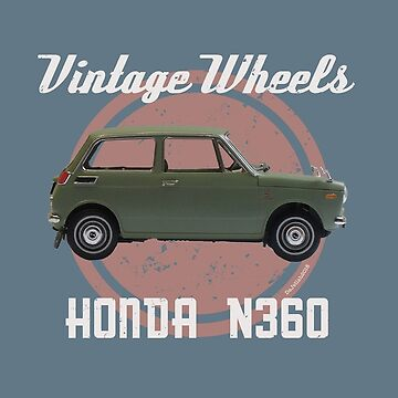 Vintage Wheels - Honda N360 by DaJellah