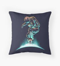 Space Grind Throw Pillow