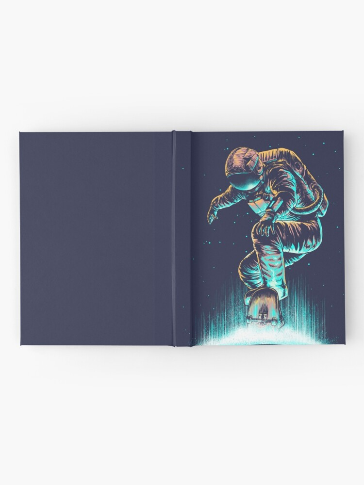 Alternate view of Space Grind Hardcover Journal
