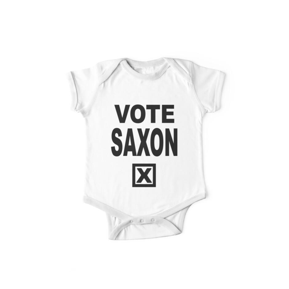 """""""Vote Saxon [Black Lettering]"""" One Piece"""