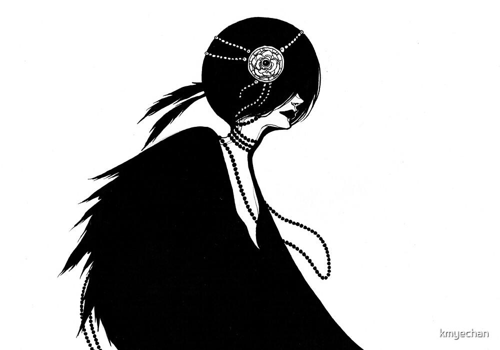 The Lady in Black by kmyechan