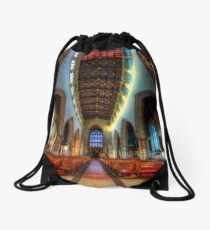 Loughborough Parish Church Nave Drawstring Bag