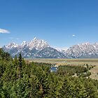 Snake River and the Tetons by Kay Brewer