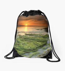 """Moss-scape"" ∞ Vincentia, NSW - Australia Drawstring Bag"