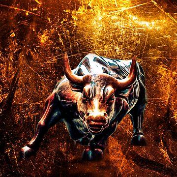 WILD BULL by johnnyssandart
