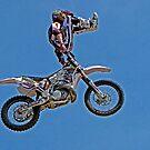 Freestyle Motocross Superstar  #1 by Chuck Gardner