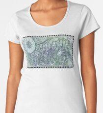 Peace Word Art Women's Premium T-Shirt
