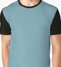 Christmas Icy Blue Velvet Graphic T-Shirt