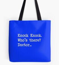 Knock-Knock 1 Tote Bag
