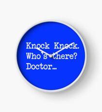 Knock-Knock 1 Clock