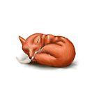 Sleepy Fox by Rachel Blackwell