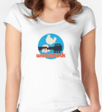 Woodstock  Fitted Scoop T-Shirt