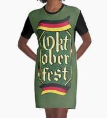 Oktoberfest Graphic T-Shirt Dress