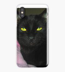 Irina The Cat Skirt iPhone Case
