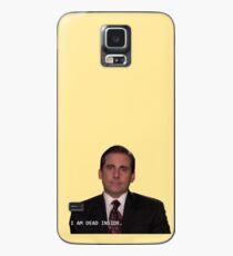 Michael Scott- I am dead inside Case/Skin for Samsung Galaxy