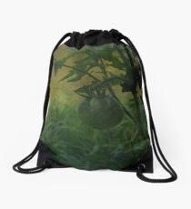 Black Russians Drawstring Bag