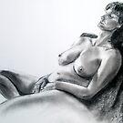 August Life Drawing  by Lynda Robinson