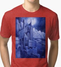 The Tower of the Moon Tri-blend T-Shirt