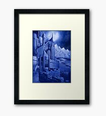 The Tower of the Moon Framed Print