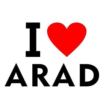 I love Arad city by tony4urban