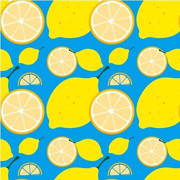 Lemon print by fashprints