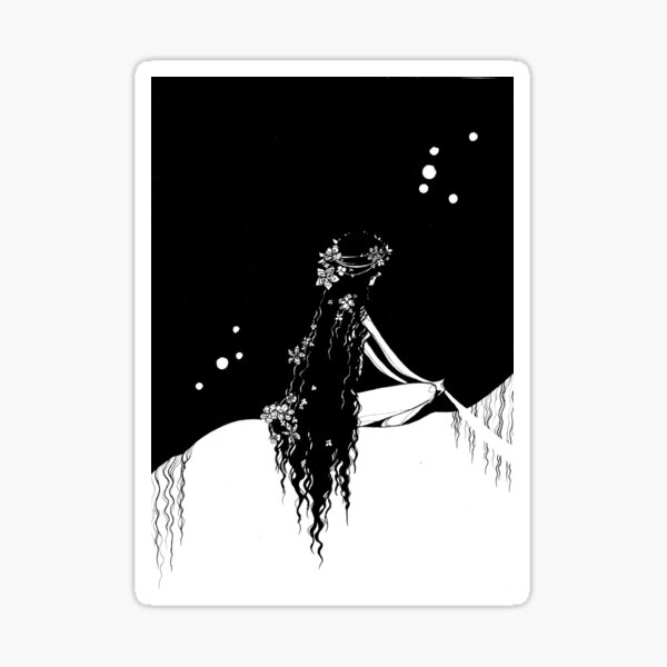 Lady Godiva Sticker