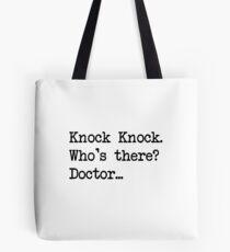 Knock-Knock 2 Tote Bag
